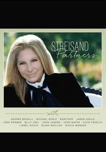 Barbra Streisand's Partners Album Barbra