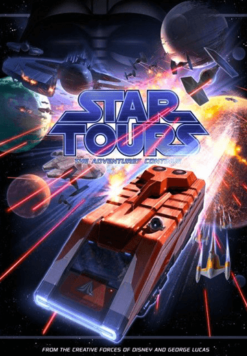 Disneyland's Star Tours: The Adventures Continue